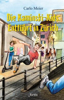 Die Kaminski-Kids: Entführt in Zürich von Leutwyler,  Matthias, Meier,  Carlo