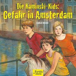 Die Kaminski-Kids: Gefahr in Amsterdam von Meier,  Carlo