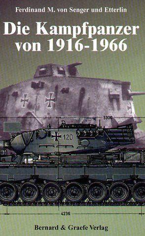 Die Kampfpanzer von 1916-1966 von Senger und Etterlin,  Ferdinand M von