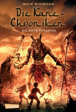 Die Kane-Chroniken 1: Die rote Pyramide von Max,  Claudia, Riordan,  Rick