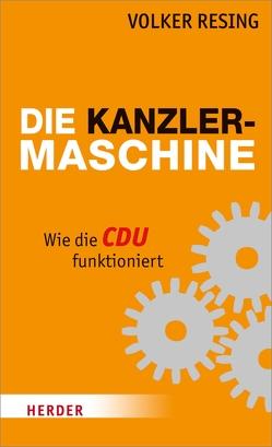 Die Kanzlermaschine von Resing,  Volker