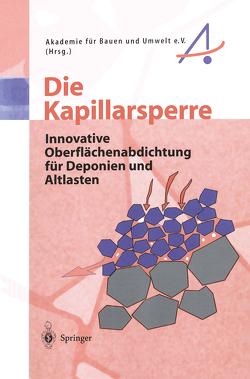 Die Kapillarsperre von Akademie für Bauen und Umwelt e.V., Wohnlich,  S.