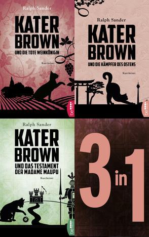 Die Kater-Brown-Krimis von Sander,  Ralph