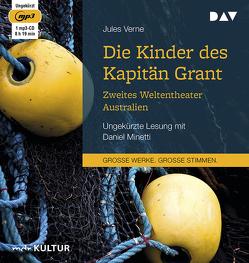 Die Kinder des Kapitän Grant: Zweites Weltentheater – Australien von Heichen,  Walter, Minetti,  Daniel, Verne,  Jules