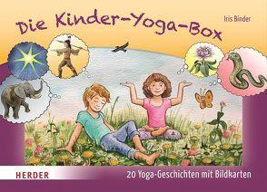 Die Kinder-Yoga-Box von Binder,  Iris, Kaiser,  Seppo Christian