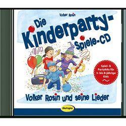 Die Kinderparty-Spiele-CD von Rosin,  Volker