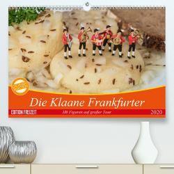 Die Klaane Frankfurter (Premium, hochwertiger DIN A2 Wandkalender 2020, Kunstdruck in Hochglanz) von Adam,  Heike, Kauffelt,  Rainer