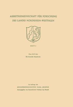 Die klassische Demokratie von Stier,  Hans Erich