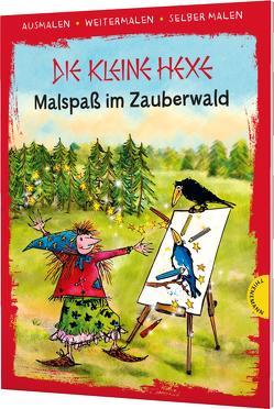 Die kleine Hexe. Malspaß im Zauberwald von Gebhardt,  Winnie, Preussler,  Otfried, Weber,  Mathias