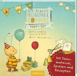 Die kleine Hummel Bommel – Party-Set von Kelly,  Maite, Sabbag,  Britta, Tourlonias,  Joelle