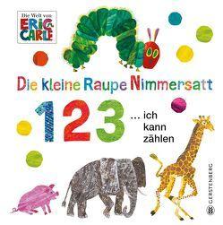 Die kleine Raupe Nimmersatt – 1 2 3 … ich kann zählen von Carle,  Eric