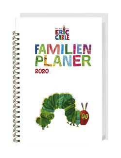 Die kleine Raupe Nimmersatt Familienplaner-Buch A5 Kalender 2020 von Carle,  Eric, Heye