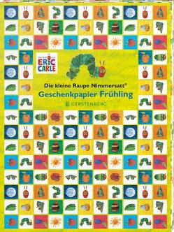 Die kleine Raupe Nimmersatt Geschenkpapier-Heft Frühling von Carle,  Eric