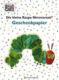 Die kleine Raupe Nimmersatt Geschenkpapier-Heft von Carle,  Eric