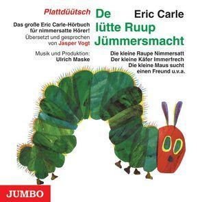 Die kleine Raupe Nimmersatt (Plattdüütsch) von Carle,  Eric