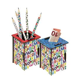 Die kleine Raupe Nimmersatt – Twinbox Spardose oder Stiftehalter von Carle,  Eric