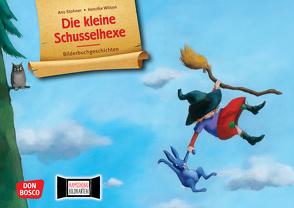 Die kleine Schusselhexe. Kamishibai Bildkartenset. von Stohner,  Anu, Wilson,  Henrike