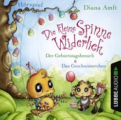 Die kleine Spinne Widerlich – 2 Hörspiele von Amft,  Diana