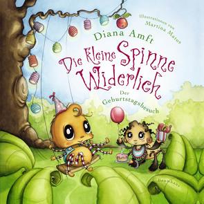Die kleine Spinne Widerlich – Der Geburtstagsbesuch (Pappbilderbuch) von Amft,  Diana