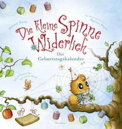 Die kleine Spinne Widerlich – Der Geburtstagskalender von Amft,  Diana, Matos,  Martina