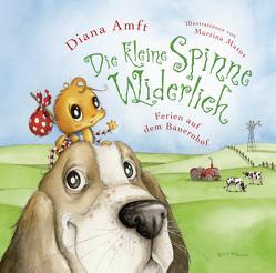 Die kleine Spinne Widerlich – Ferien auf dem Bauernhof (Mini-Ausgabe) von Amft,  Diana, Matos,  Martina