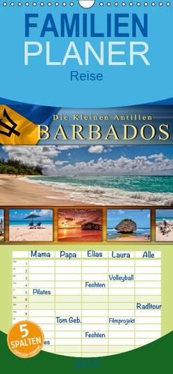 Die kleinen Antillen – Barbados – Familienplaner hoch (Wandkalender 2019 , 21 cm x 45 cm, hoch) von Roder,  Peter