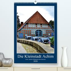 Die Kleinstadt Achim – 2020 (Premium, hochwertiger DIN A2 Wandkalender 2020, Kunstdruck in Hochglanz) von Klünder,  Günther