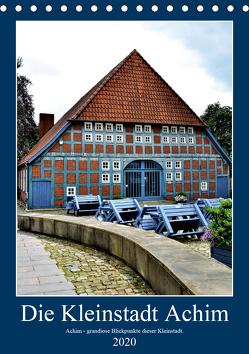 Die Kleinstadt Achim – 2020 (Tischkalender 2020 DIN A5 hoch) von Klünder,  Günther
