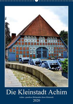 Die Kleinstadt Achim – 2020 (Wandkalender 2020 DIN A2 hoch) von Klünder,  Günther