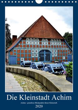 Die Kleinstadt Achim – 2020 (Wandkalender 2020 DIN A4 hoch) von Klünder,  Günther