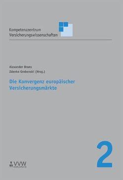 Die Konvergenz europäischer Versicherungsmärkte von Bruns,  Alexander, Grobenski,  Zdenko