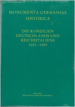 Die Konzilien Deutschlands und Reichsitaliens 1023-1059 von Jasper,  Detlev