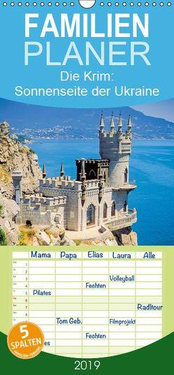 Die Krim: Sonnenseite der Ukraine – Familienplaner hoch (Wandkalender 2019 , 21 cm x 45 cm, hoch) von CALVENDO