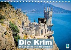 Die Krim – Sonnenseite der Ukraine (Tischkalender 2018 DIN A5 quer) von CALVENDO,  k.A.