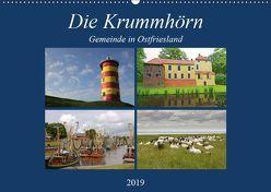 Die Krummhörn Gemeinde in Ostfriesland (Wandkalender 2019 DIN A2 quer) von Poetsch,  Rolf