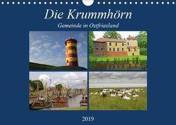 Die Krummhörn Gemeinde in Ostfriesland (Wandkalender 2019 DIN A4 quer) von Poetsch,  Rolf