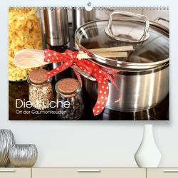Die Küche. Ort der Gaumenfreuden (Premium, hochwertiger DIN A2 Wandkalender 2021, Kunstdruck in Hochglanz) von Stanzer,  Elisabeth