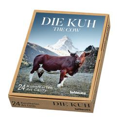 Die Kuh, Kunstkartenbox von Lampert,  Werner