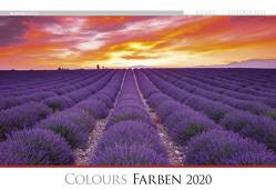 Die Kunst der Fotografie – Farben 2020 – Bildkalender quer (50 x 34) – Landschaftskalender – bunt – Natur – Wandkalender von ALPHA EDITION