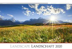 Die Kunst der Fotografie – Landschaft 2020 – Bildkalender quer (50 x 34) – Landschaftskalender – Natur – Wandkalender von ALPHA EDITION