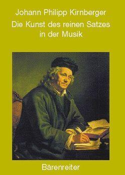 Die Kunst des reinen Satzes in der Musik von Herzfeld,  Gregor, Kirnberger,  Johann Ph