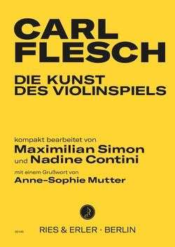 Die Kunst des Violinspiels von Contini,  Nadine, Flesch,  Carl, Simon,  Maximilian