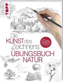 Die Kunst des Zeichnens – Natur Übungsbuch von frechverlag