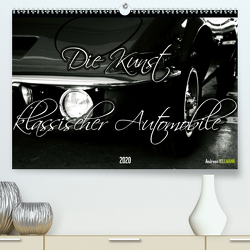 Die Kunst klassischer Automobile (Premium, hochwertiger DIN A2 Wandkalender 2020, Kunstdruck in Hochglanz) von Hellmann,  Andreas