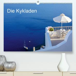 Die Kykladen (Premium, hochwertiger DIN A2 Wandkalender 2021, Kunstdruck in Hochglanz) von Kruse,  Joana
