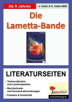 Die Lametta-Bande – Literaturseiten von Vatter,  Jochen, Vatter-Wittl,  Christiane