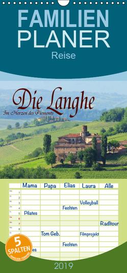 Die Langhe – Im Herzen des Piemonts – Familienplaner hoch (Wandkalender 2019 , 21 cm x 45 cm, hoch) von LianeM