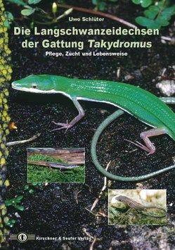 Die Langschwanzeidechsen der Gattung Takydromus von Schlüter,  Uwe