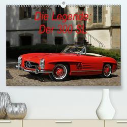 Die Legende: 300 SL (Premium, hochwertiger DIN A2 Wandkalender 2020, Kunstdruck in Hochglanz) von Bau,  Stefan