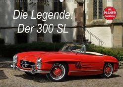 Die Legende: 300 SL (Wandkalender 2019 DIN A2 quer) von Bau,  Stefan